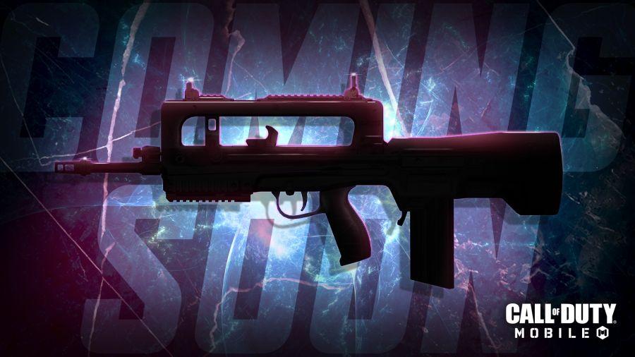 Jedną z nowych broni 1. sezonu COD Mobile będzie FAMAS.