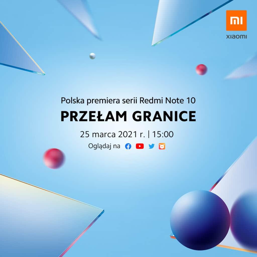 Kiedy premiera Xiaomi Redmi Note 10 w Polsce?