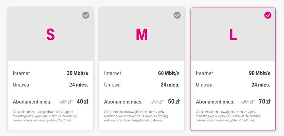 T-Mobile bez limitu
