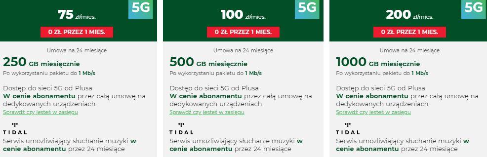 Plus bez limitu 500 GB